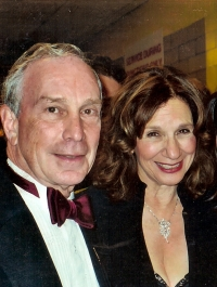 Shelly and Mayor Bloomberg