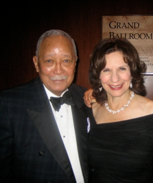 Shelly and Mayor Dinkins