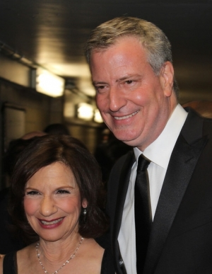Shelly and Mayor de Blasio, Inner Circle Show, March 22, 2014